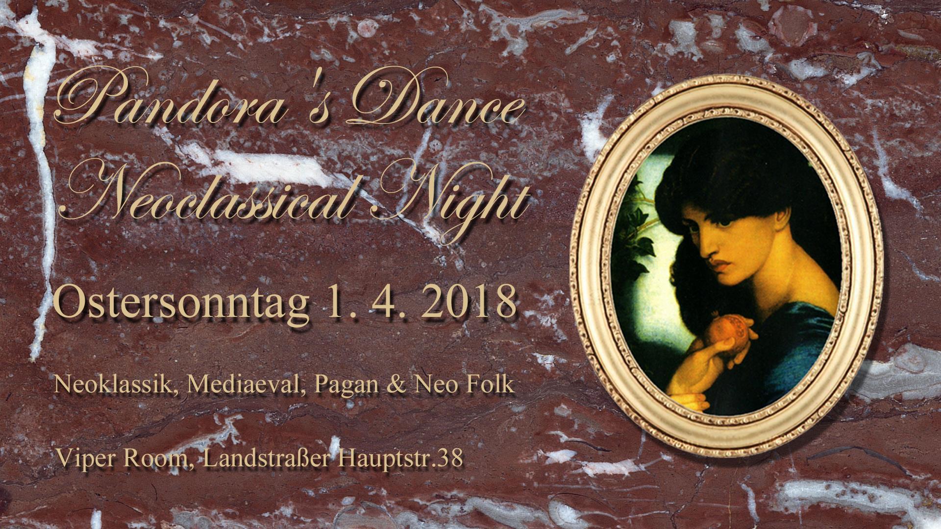 Pandora's Dance - Neoclassical Night