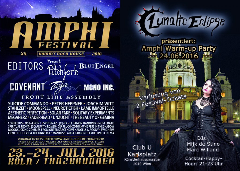 Amphi Warm-up Party Vienna