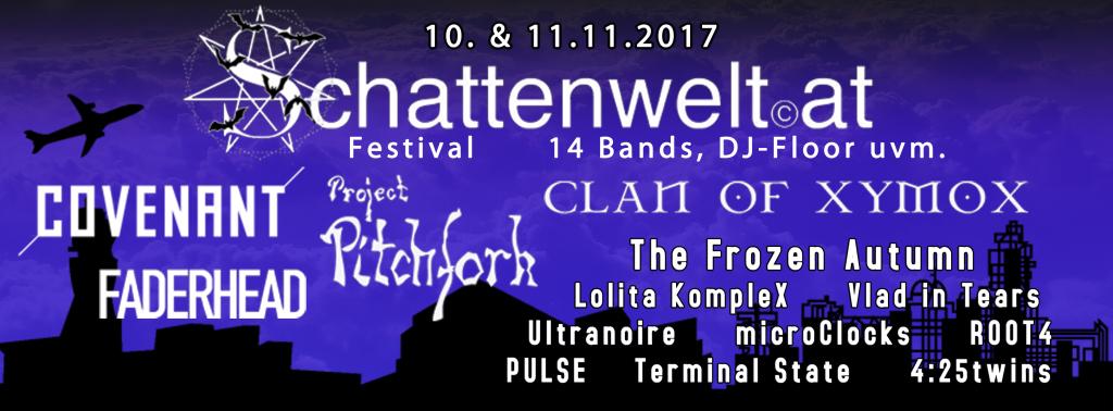 Schattenwelt Gothic Electro Festival Vienna/Austria