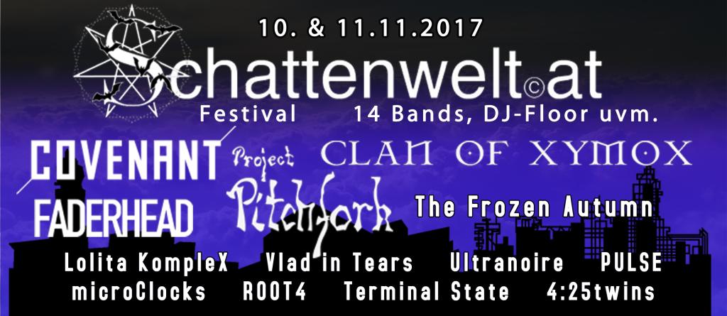 Schattenwelt Gothic and Dark Electro Festivsl 2017