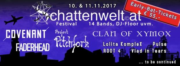 Schattenwelt Gothic Festival Österreich 2017