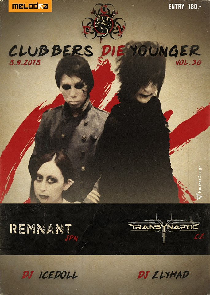 Clubbers Die Younger - Japanese edition