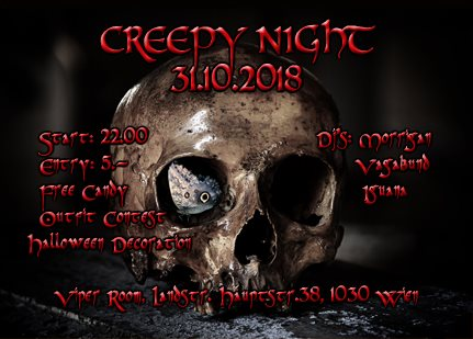 Creepy Night - Halloween Party