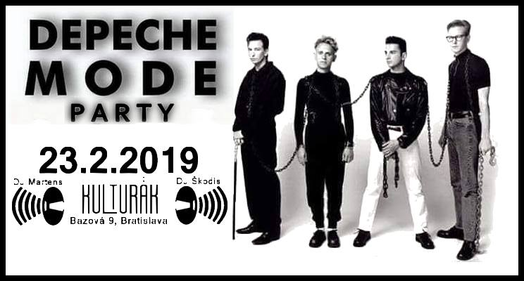 Depeche Mode Party Bratislava