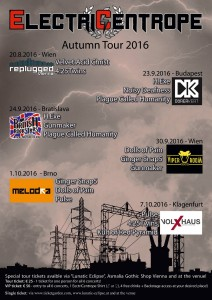 ElectriCentrope Autumn Tour 2016