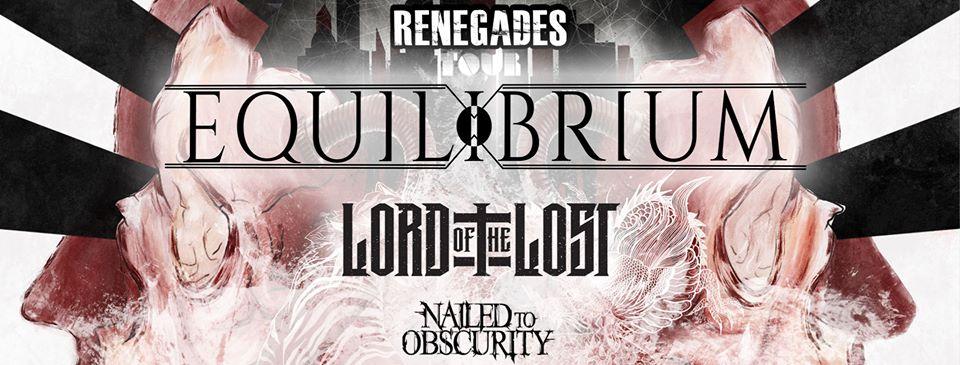 Equilibrium Renegades Tour 2020