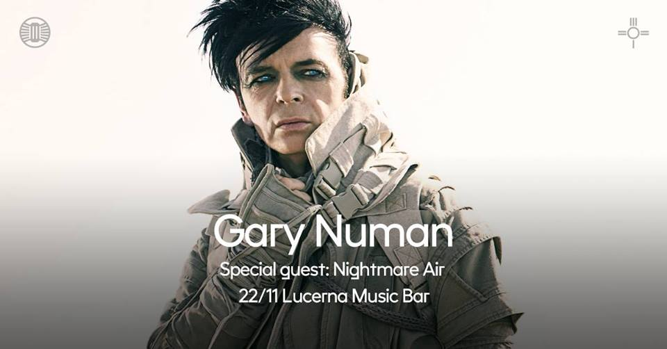 Gary Numan & Nightmare Air live in Prague!
