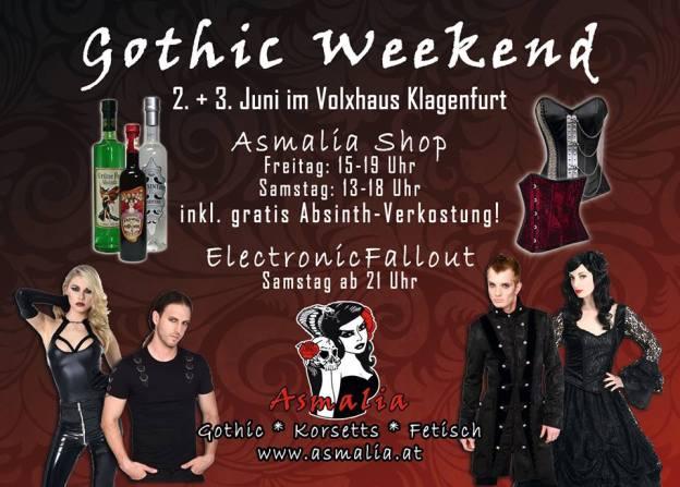 Gothic Weekend Asmalia Klagenfurt