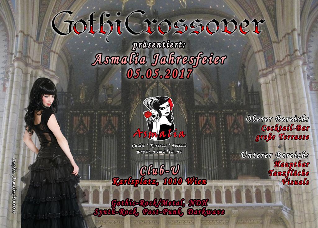 GothicCrossover Asmalia Gothic Shop Wien