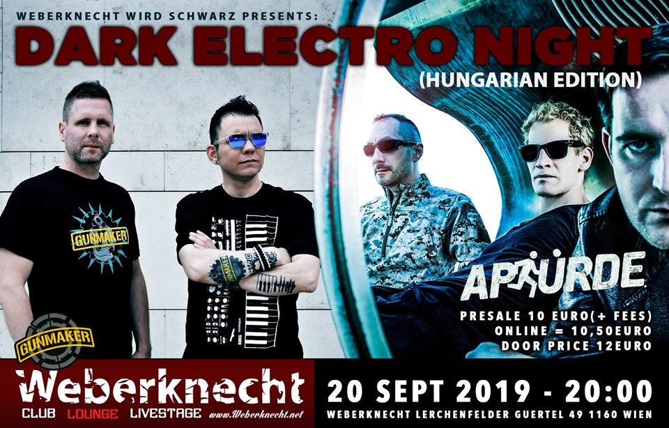 Gunmaker + Apsürde / Hungarian Dark Electro Night