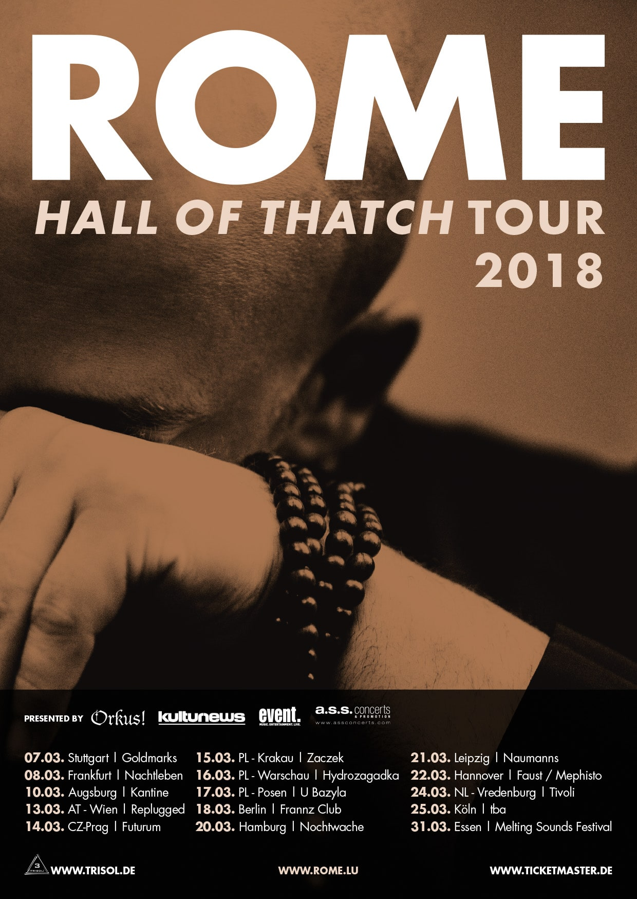 ROME (lux) live in Vienna!