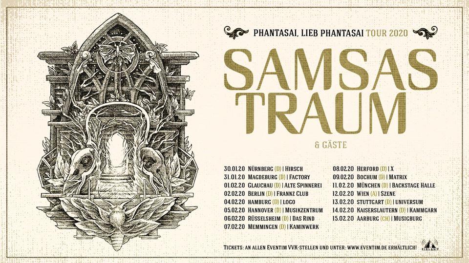 Samsas Traum live