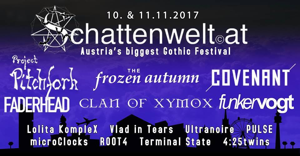 Schattenwelt Gothic Dark Electro Festival Wien
