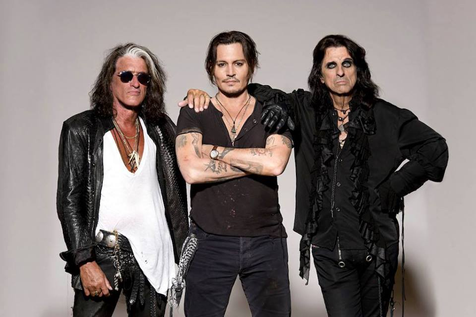 The Hollywood Vampires - Burg Clam