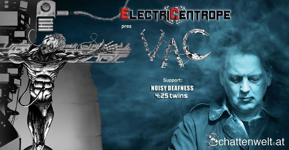 VAC - Velvet Acid Christ live in Budapest!
