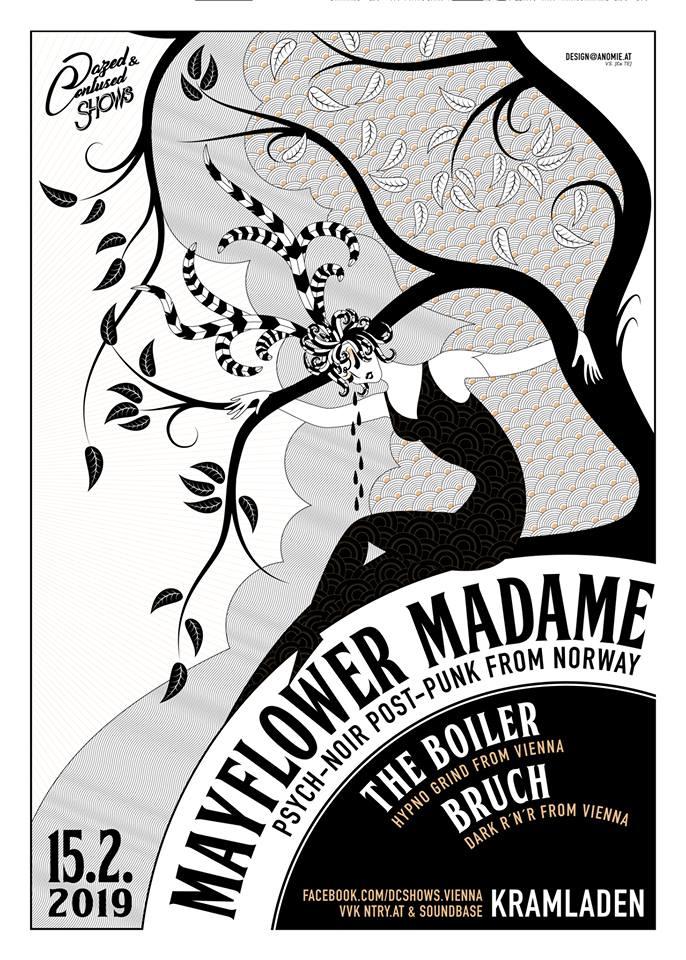 Mayflower Madame / Bruch / The Boiler live