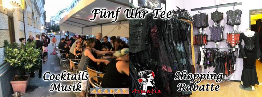 5-Uhr-Tee Cocktails, Musik & Shopping